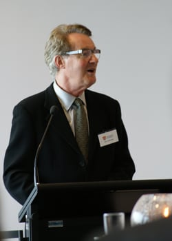 the Dean, Professor John Redmond, during his address