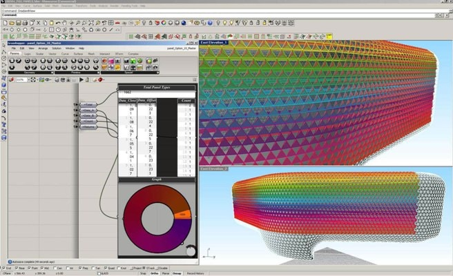 Parametric Modelling Tool (used for South Australian Health & Medical Research Institute project)