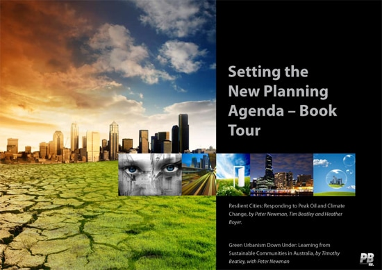 Resilient Cities Book Tour