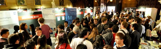 Investment banking and consultancy careers fair