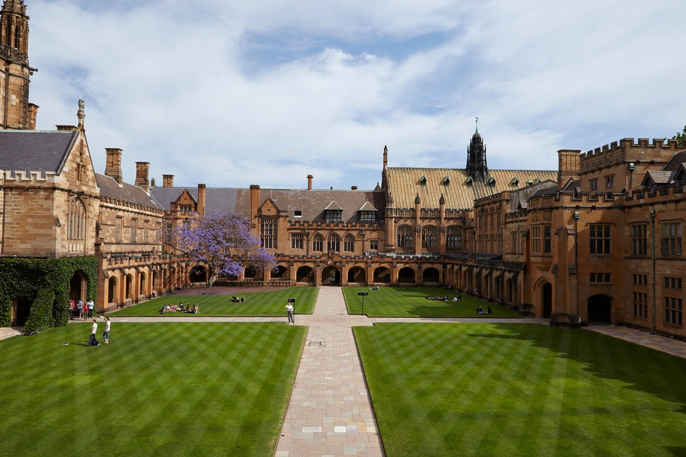 University of Sydney - Universitas Terbaik Dunia Schoters