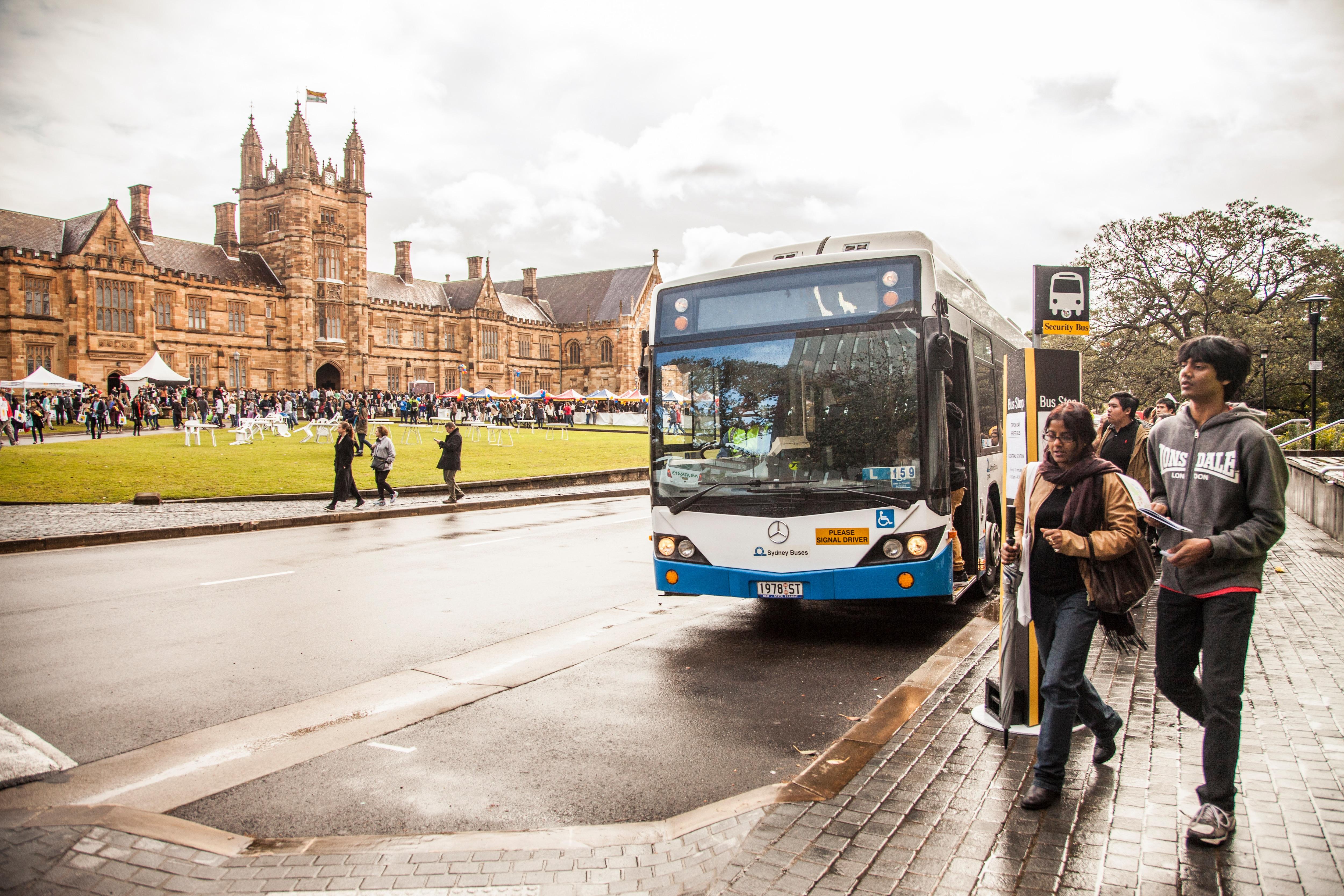 Public transport - The University of Sydney