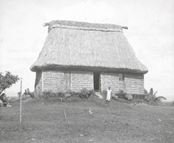 Photograph of a Chief's house