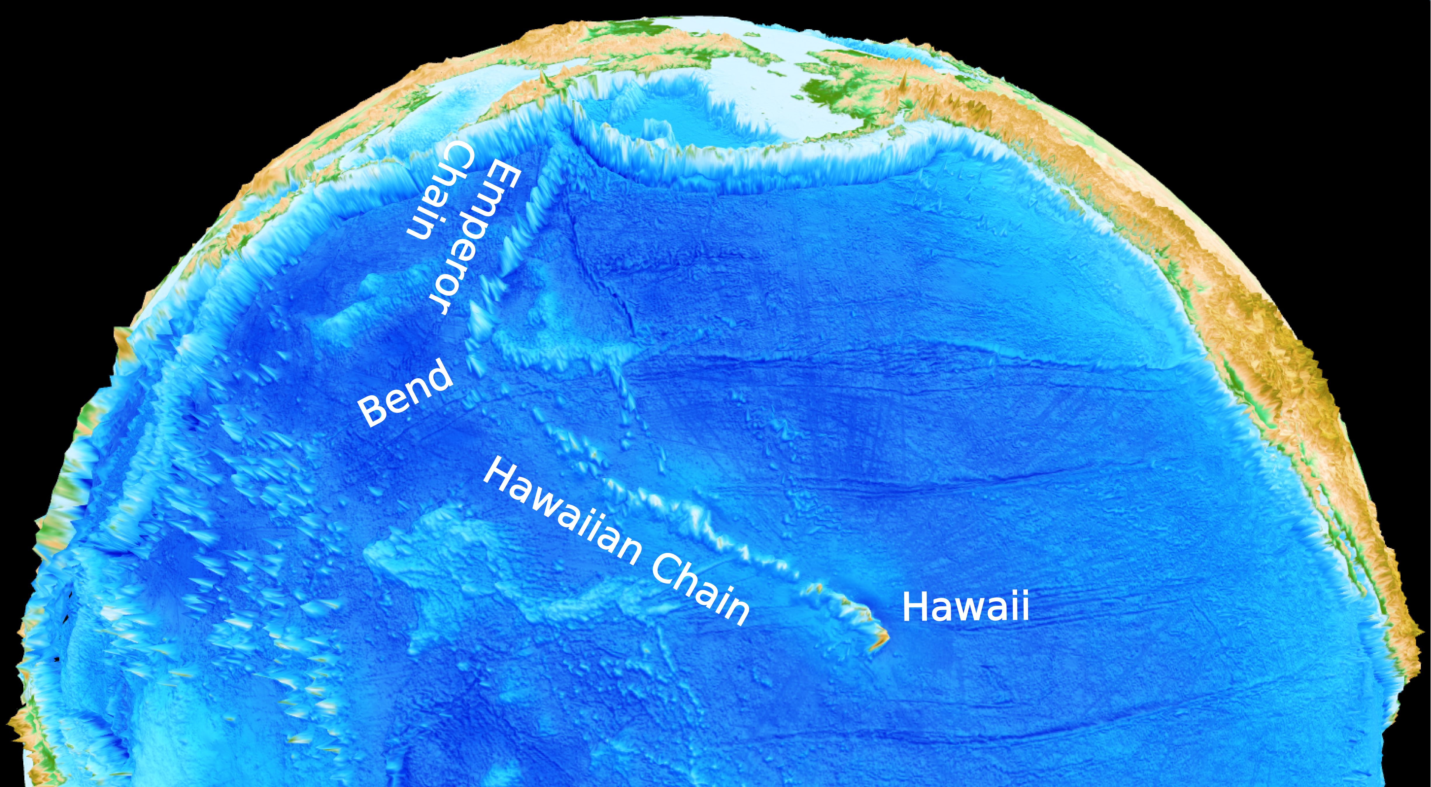 How the spectacular Hawaiian-Emperor seamount chain got