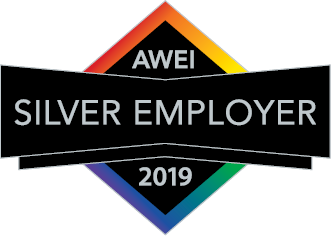 Silver employer logo for the Australian Workplace Equality Index