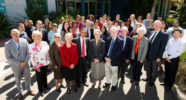 Staff of the Storr Liver Centre