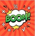 Image of the word 'Boom'