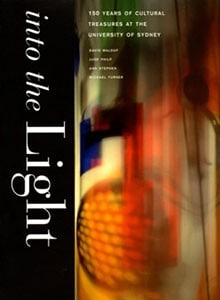 Book cover with colours in movement