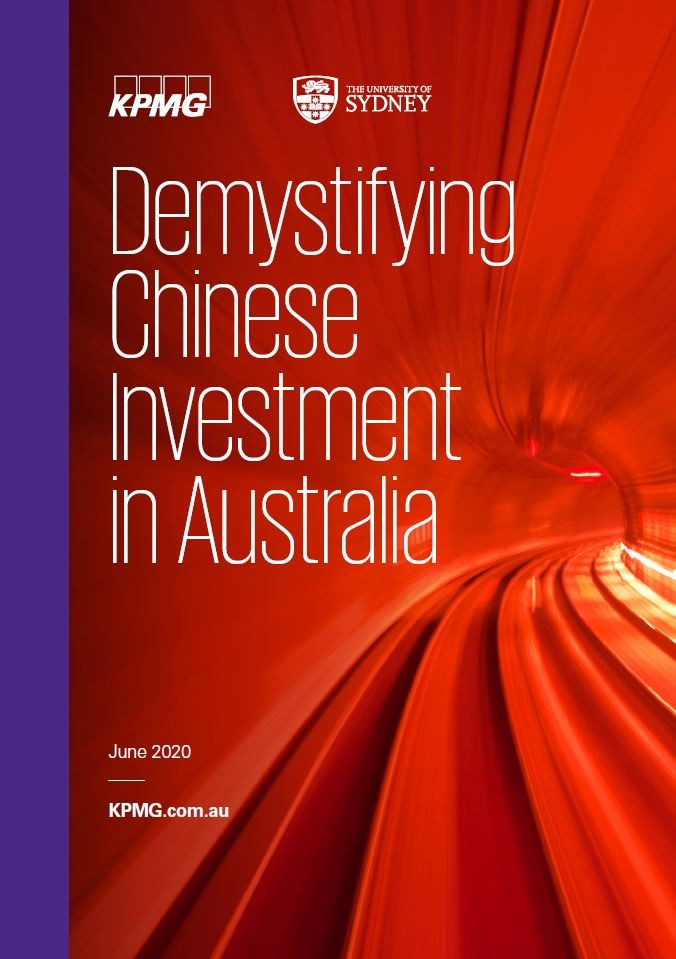 Cover of the report Demystifying Chinese Investment