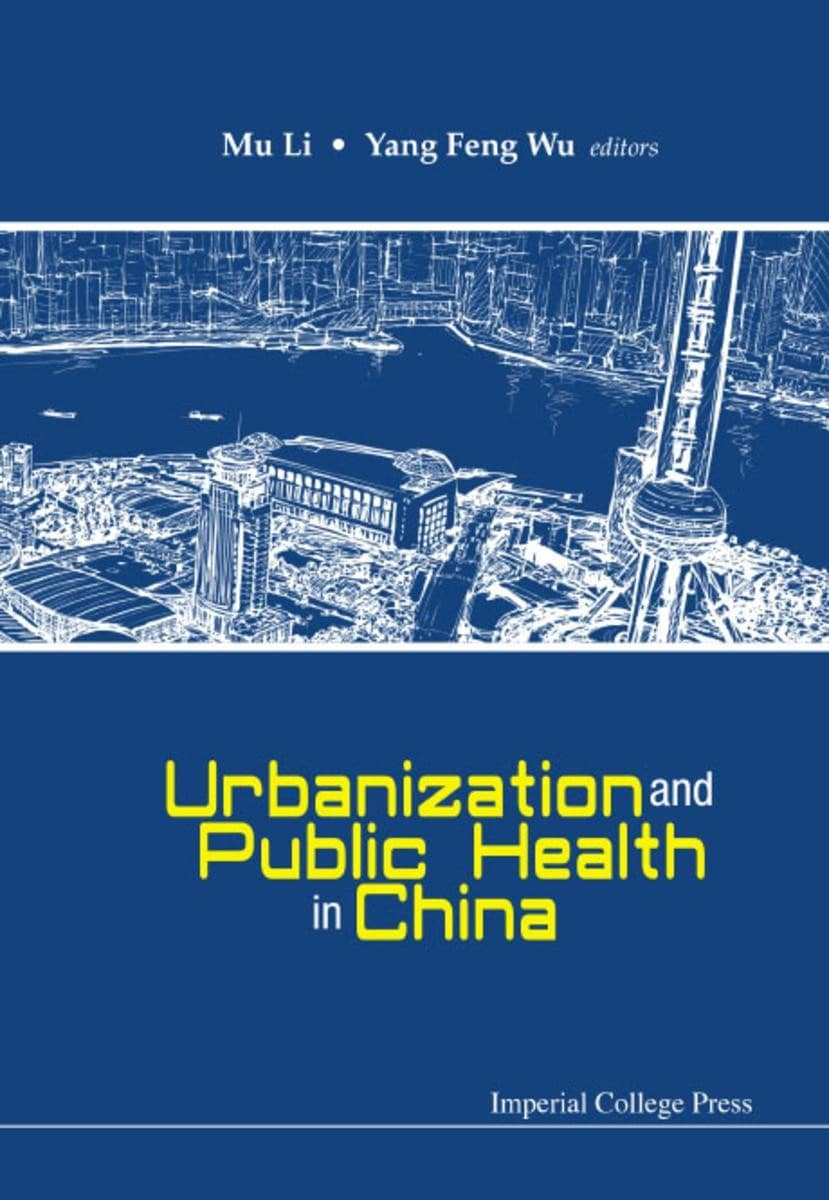 The cover of the book Urbanisation edited by Professor Mu Li