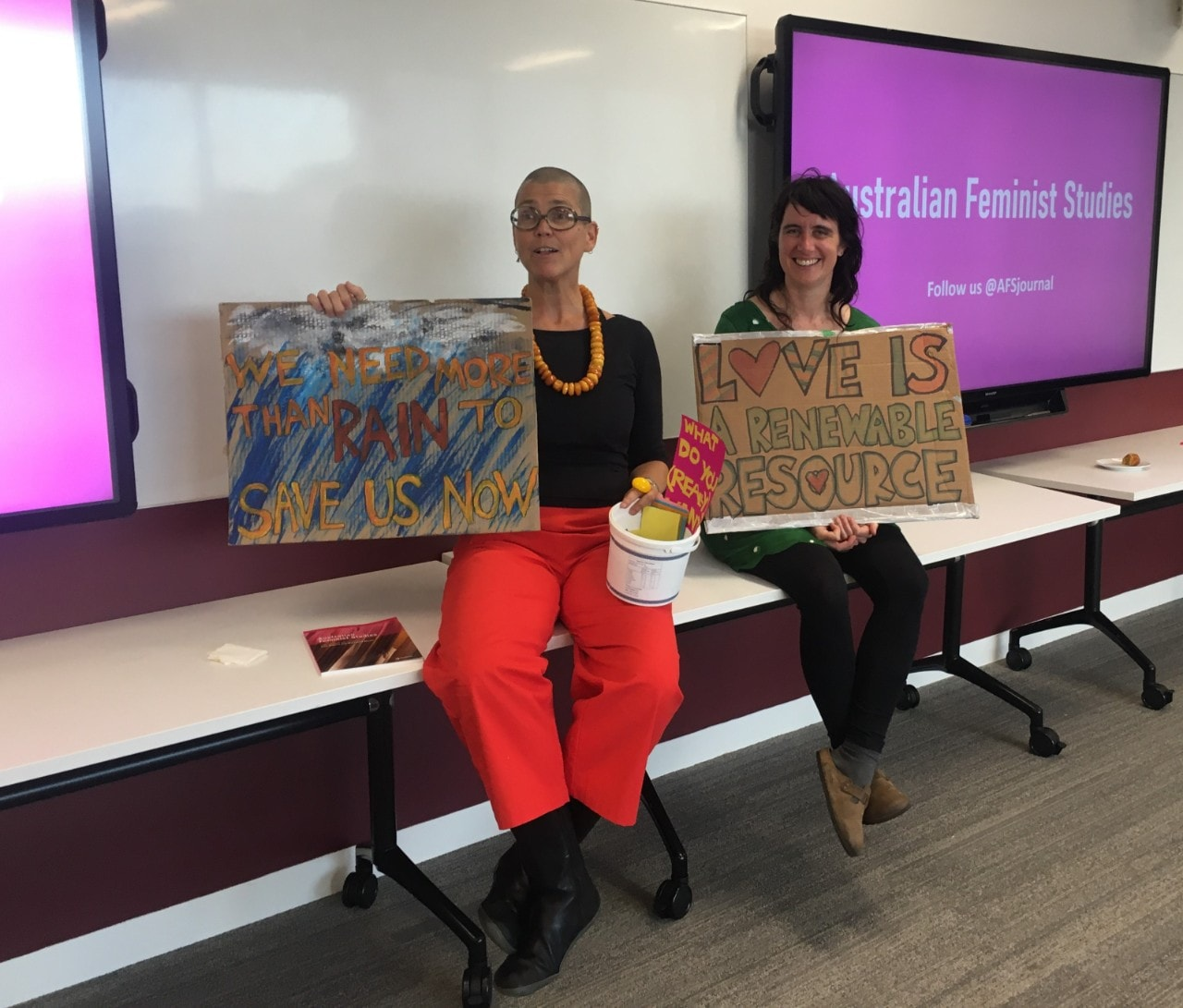Launch of the special issue of the journal Australian Feminist Studies, titled What do we Want? Feminist Environmental Humanities.
