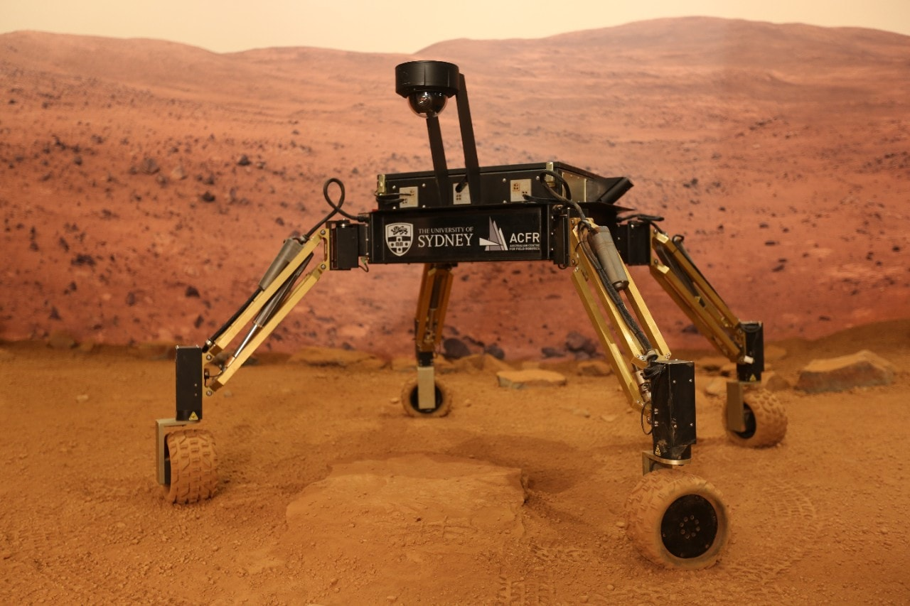 MAMMOTH an experimental planetary rover