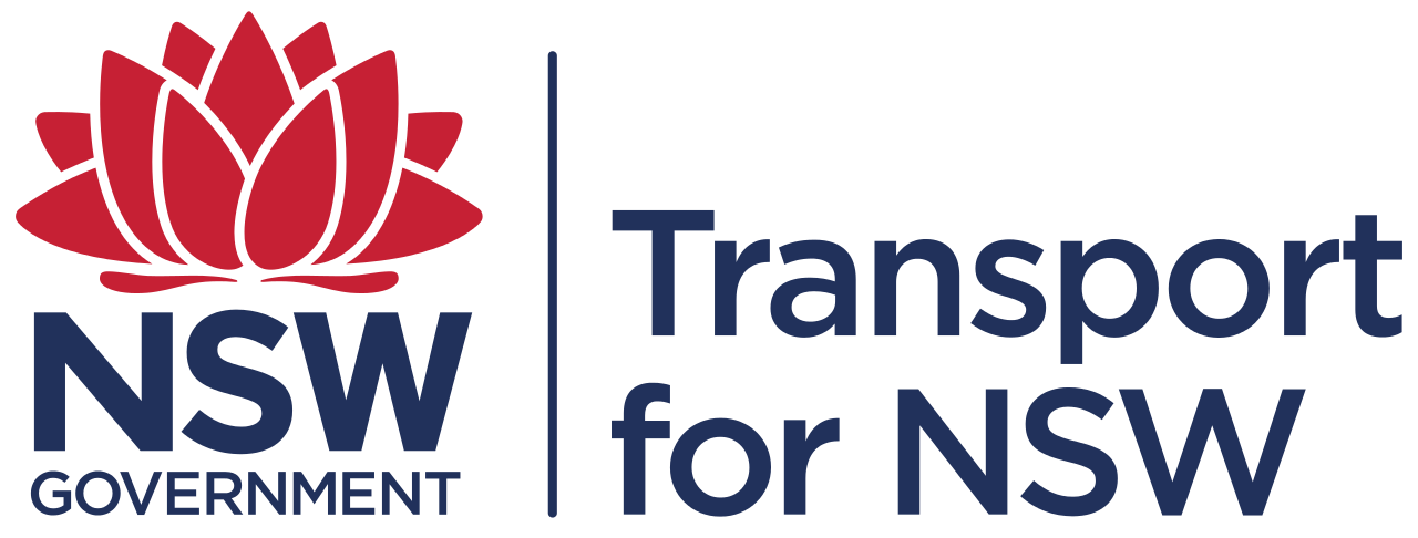 Transport for NSW Logo.