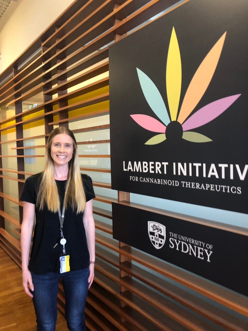 Dr Danielle McCartney in the Lambert offices