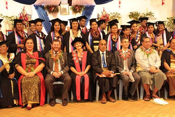 Graduates of the NCD Advanced Learning Diploma in 2014