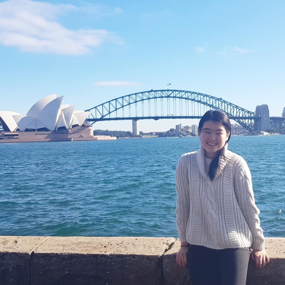 Sydney Medical School student, Jenny Zheng