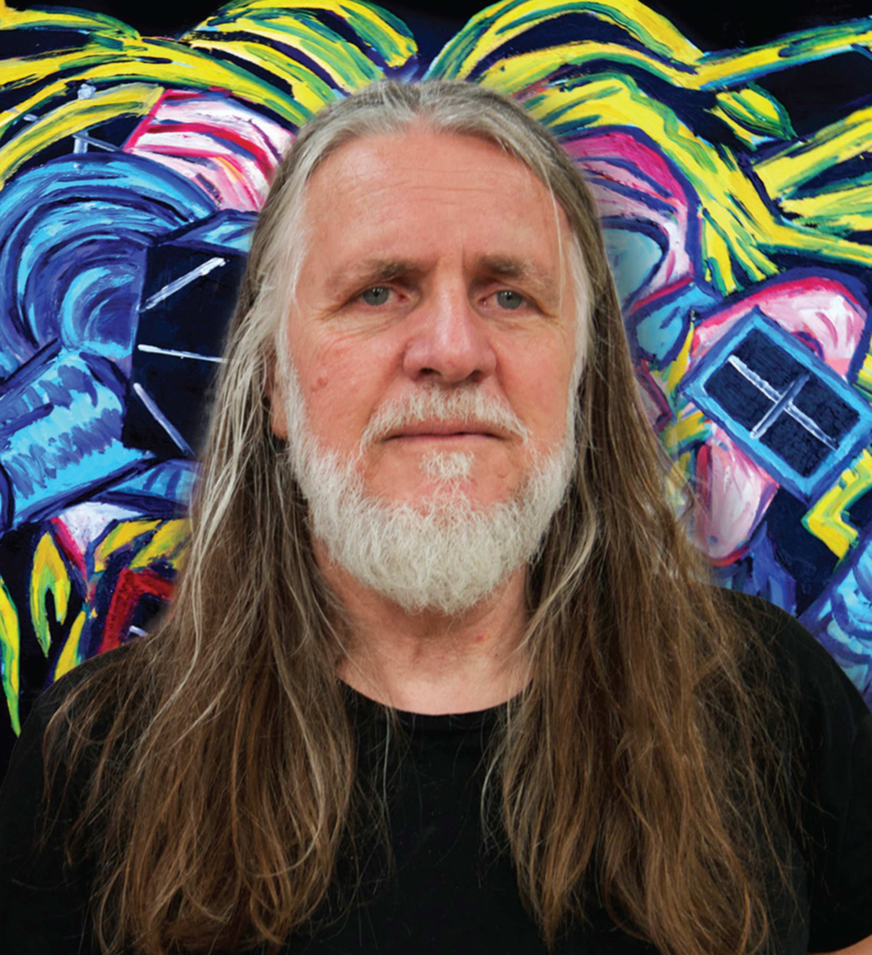 George Gittoes, winner of the 2015 Sydney Peace Prize