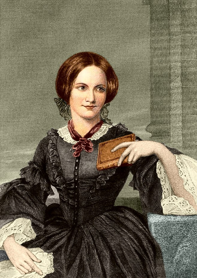 Charlotte Brontë painted by Evert A. Duyckinck, based on a drawing by George Richmond. Image: Wikimedia Commons.