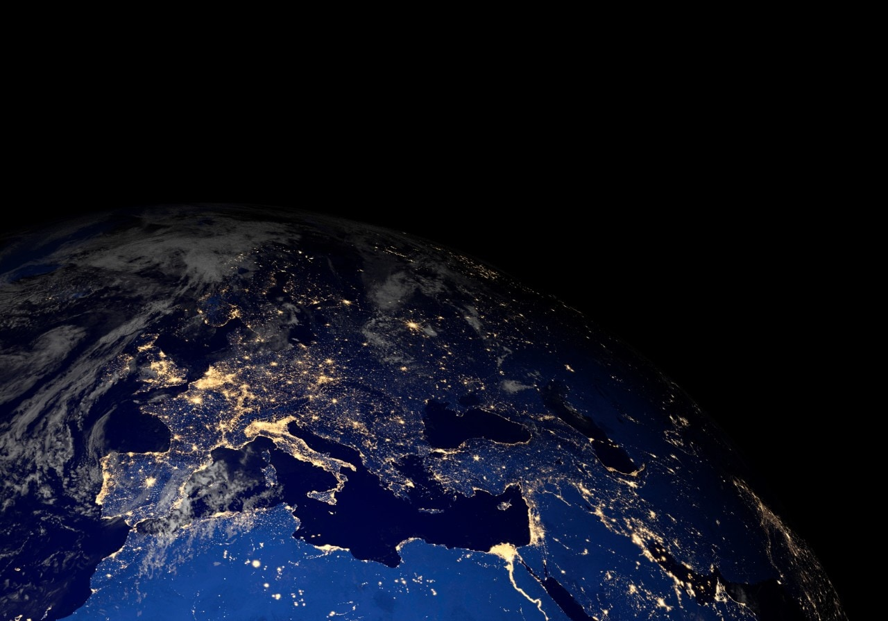 Sattelite Map Of World.Satellite Images Of World At Night Can Map Rural Poverty The