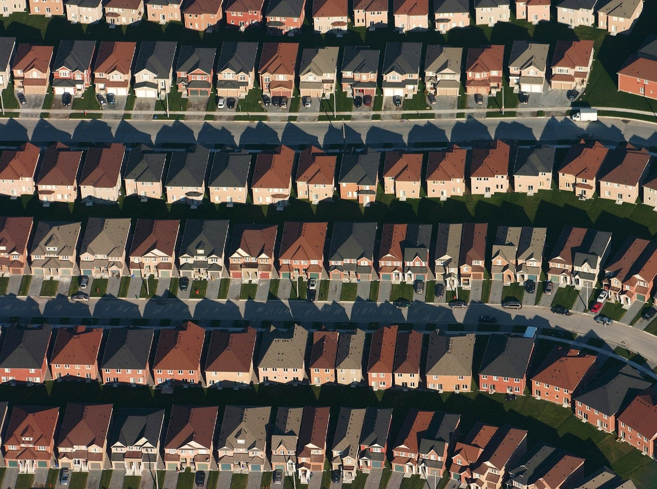 Housing from above.