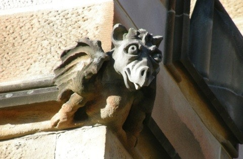 Gargoyle at the University of Sydney