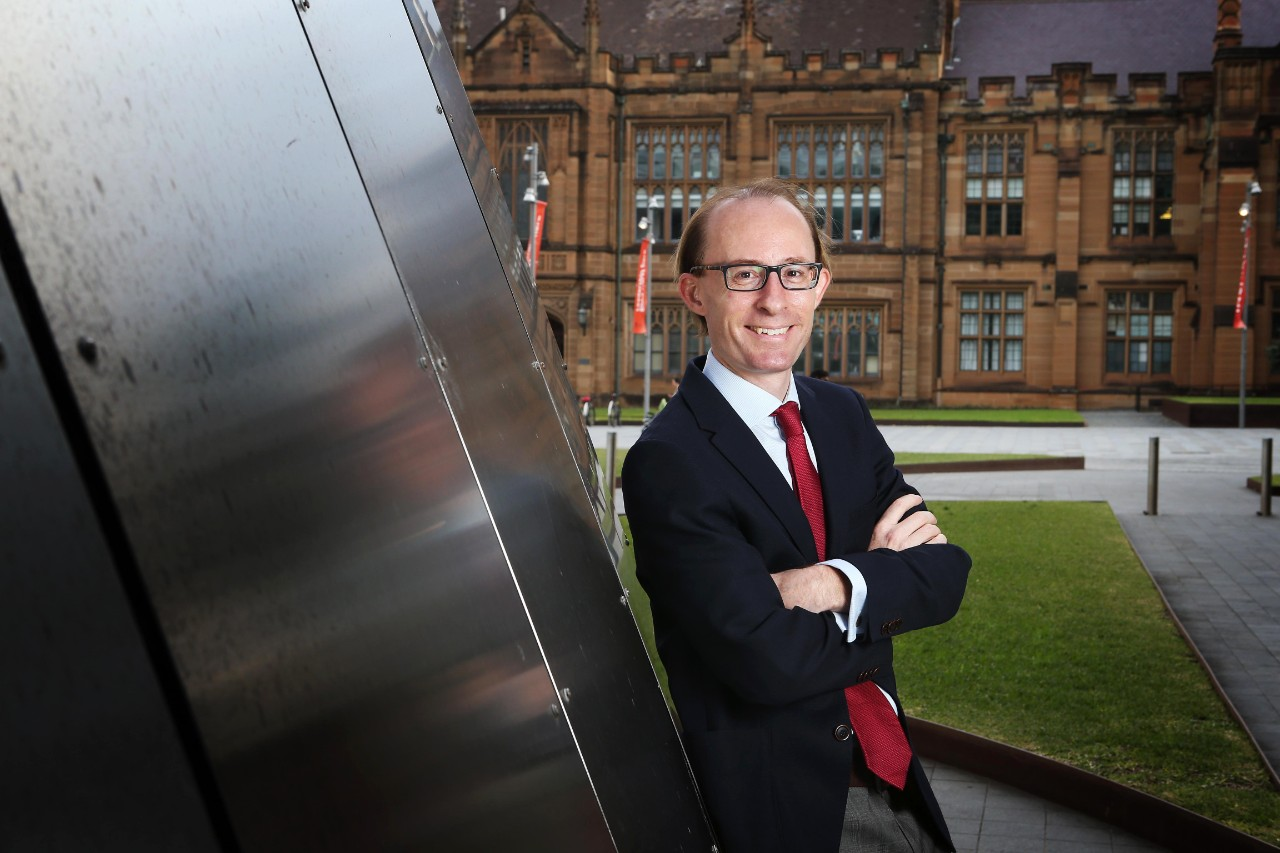 A profile photo of Professor Ben Saul, who is the latest University of Sydney academic to be appointed to a prestigious visiting professorship at Harvard University.