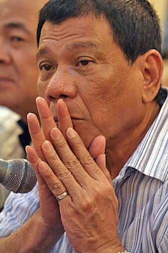 With his already large supporter base Rodrigo Duterte successfully courted the country's 50 million registered voters. Image: Wikimedia Commons