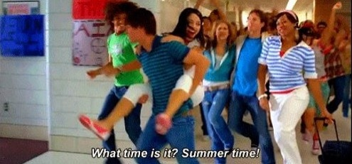 High school musical 'what time is it? summertime!'