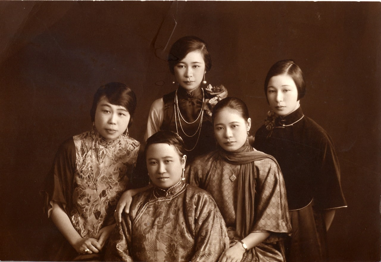 The Kwok family, Shanghai 1931.