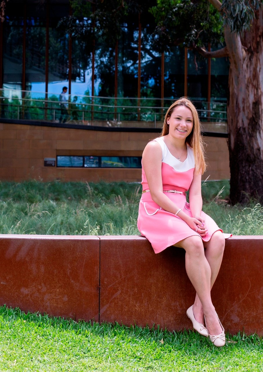 A photo of University of Sydney student Georgia Durmush