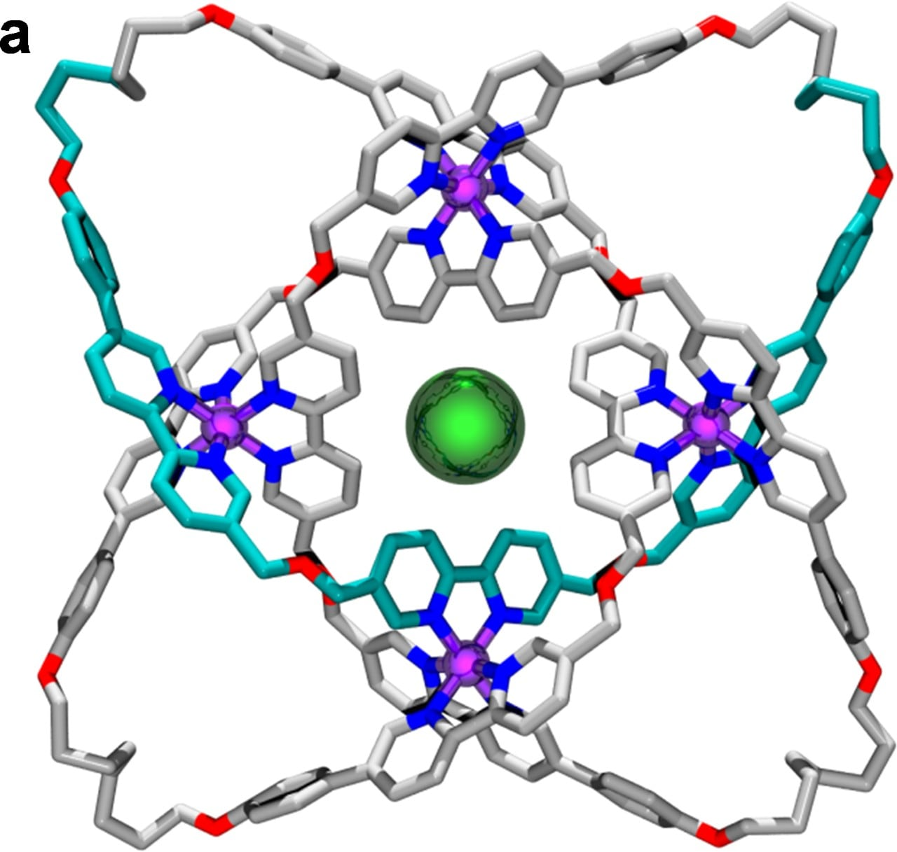 X-ray crystal structure of a molecular knot with eight crossings