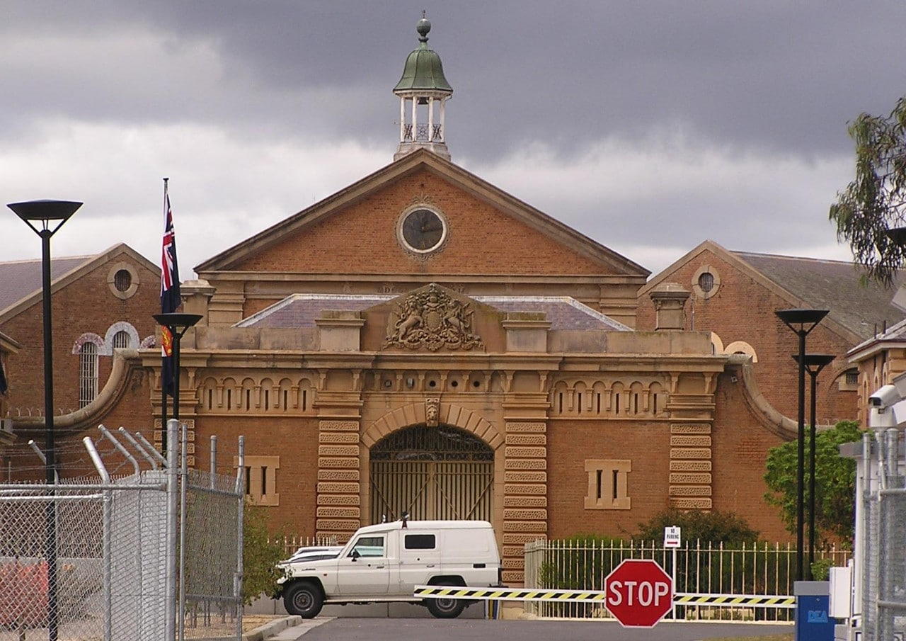 Goulburn prison is the site of a proposed 'mini max' facility to house radical inmates. Image: Wikimedia Commons.