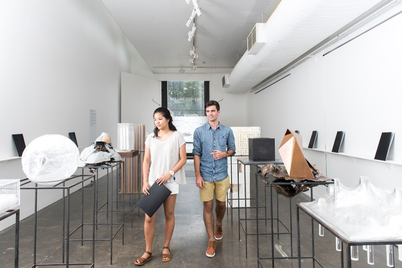 Clare Chuang and Angus Gregg are among the first cohort undertaking the new architecture double degree at the University of Sydney this year.