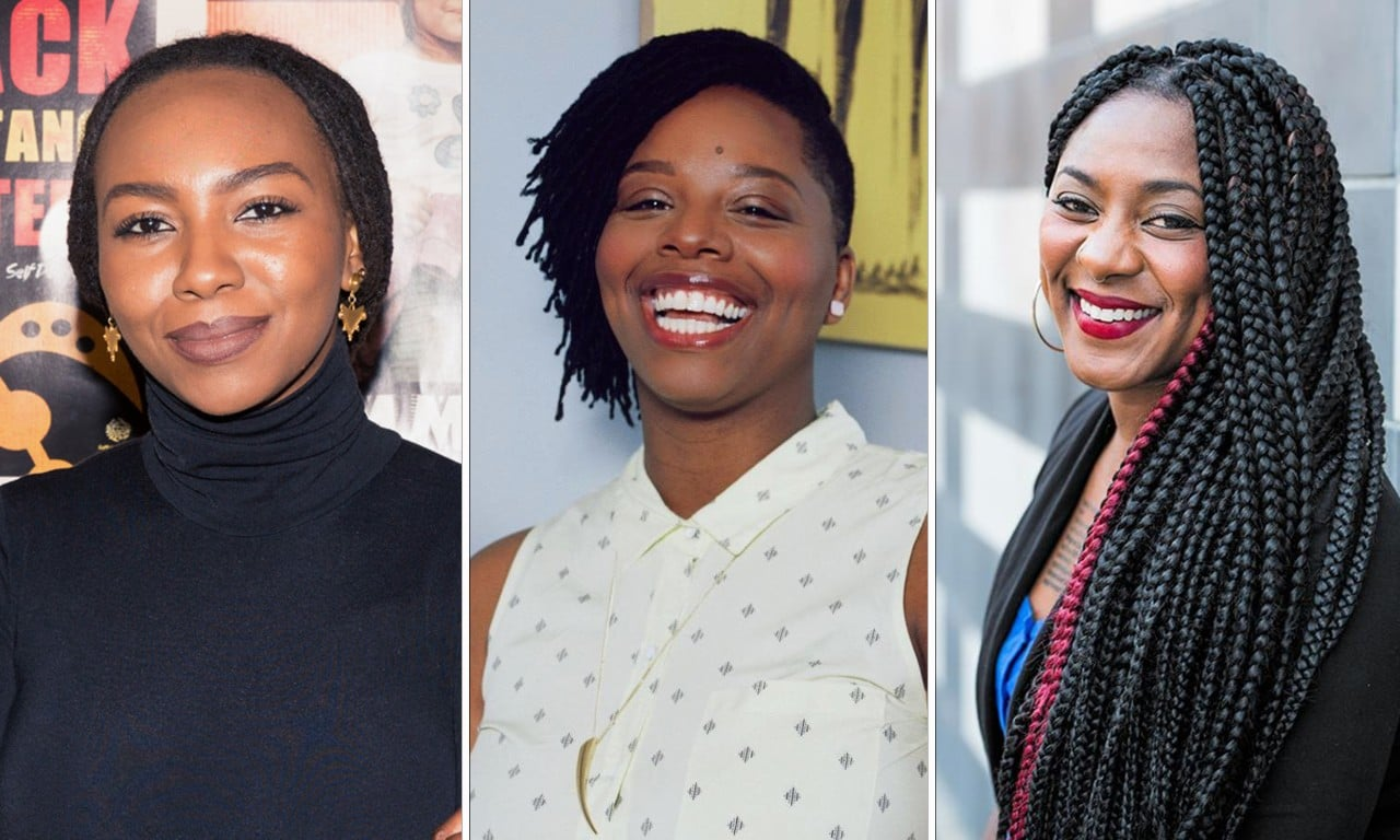 Sydney Peace Prize winners: Black Lives Matter founders Opal Tometi, Patrisse Marie Cullors, and Alicia Garza.