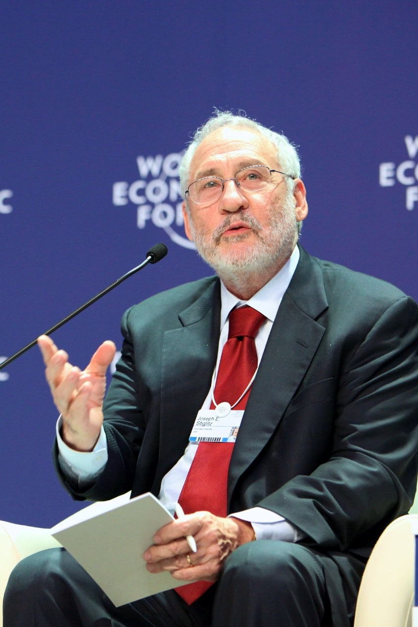 Professor Joseph Stiglitz awarded the 2018 Sydney Peace Prize.