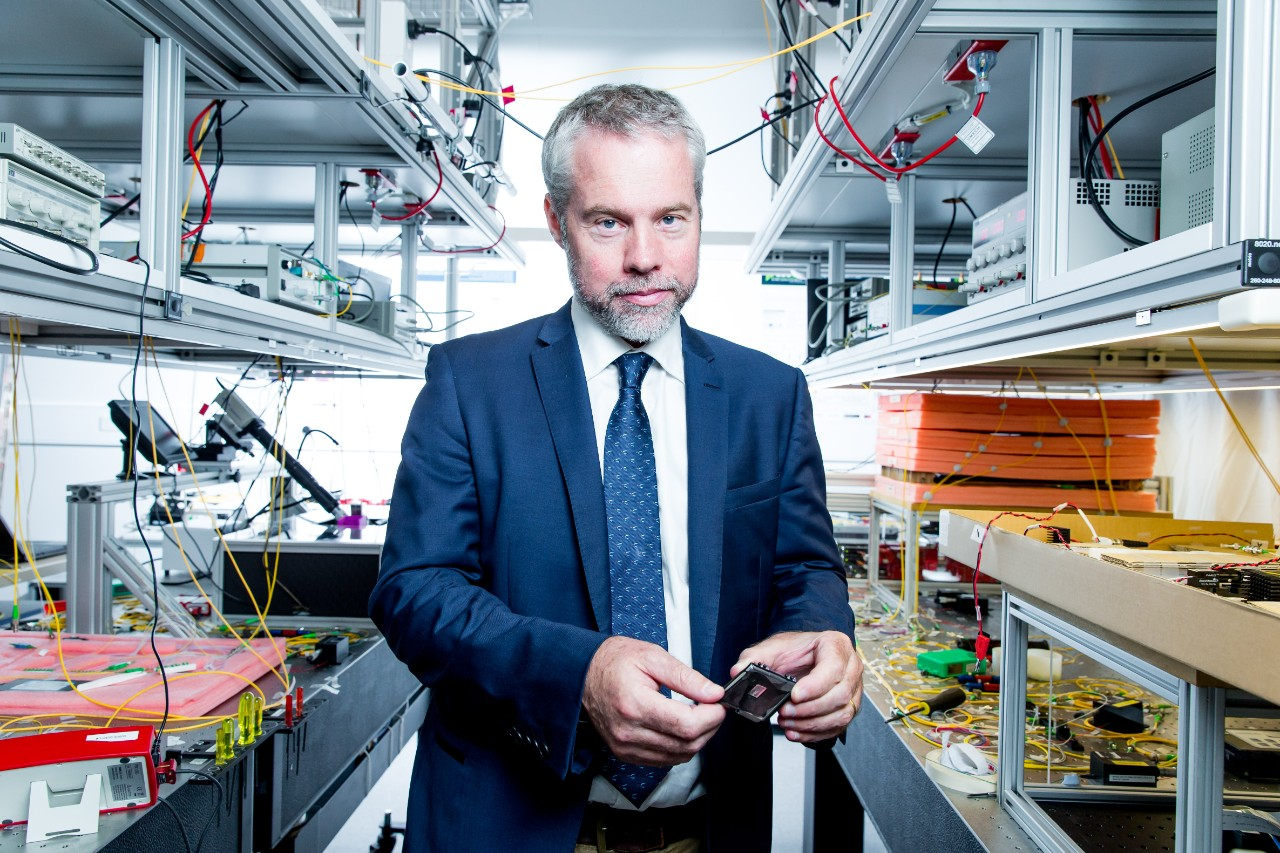 Professor Ben Eggleton is the new director of the University of Sydney Nano Institute.