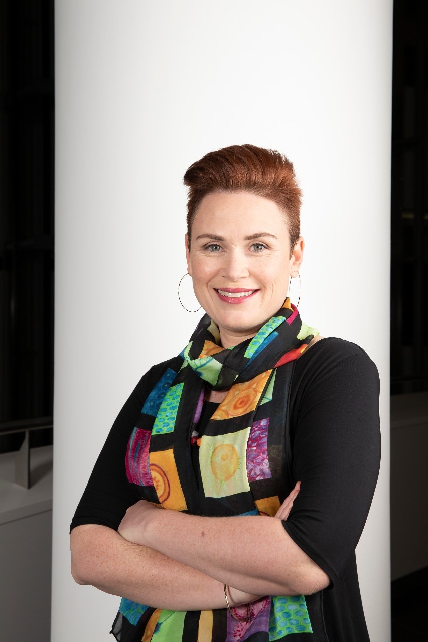 Portrait shot of Professor Renae Ryan