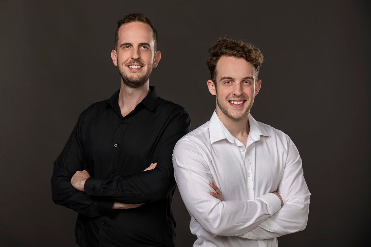 James and Robbie Ferguson, founders of Fuel Games.