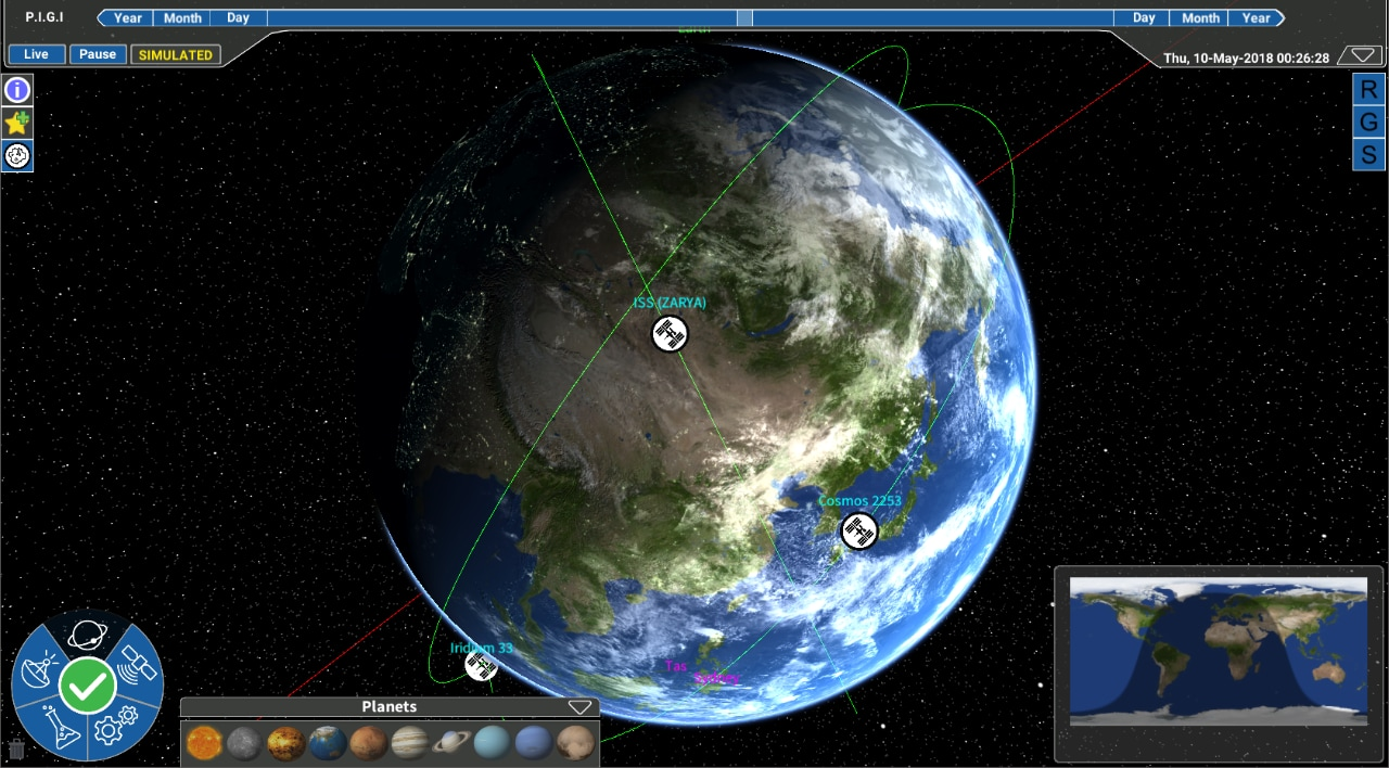 image from, the mission control software developed by Saber Astronautics.