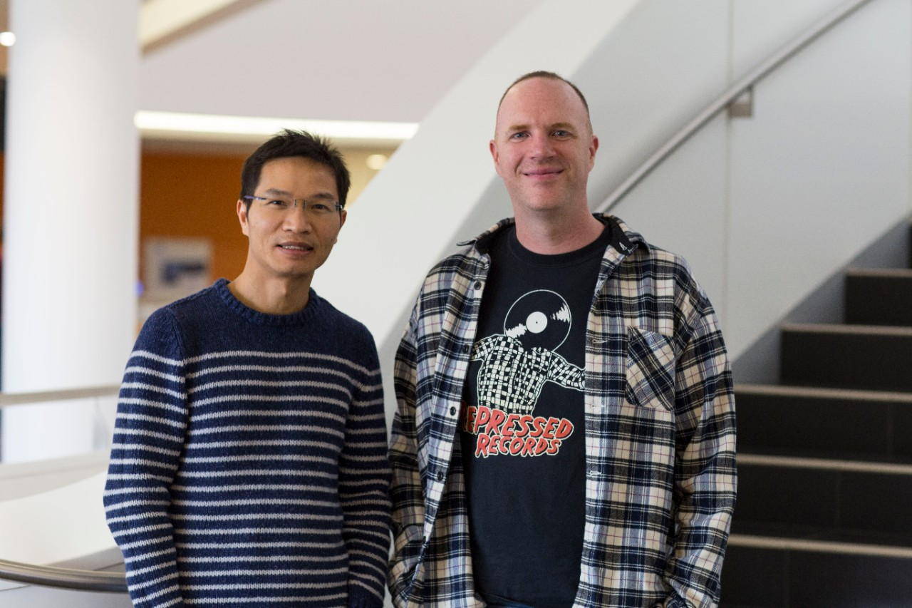 photo of Dr Thang Khuong and Associate Professor Greg Neely
