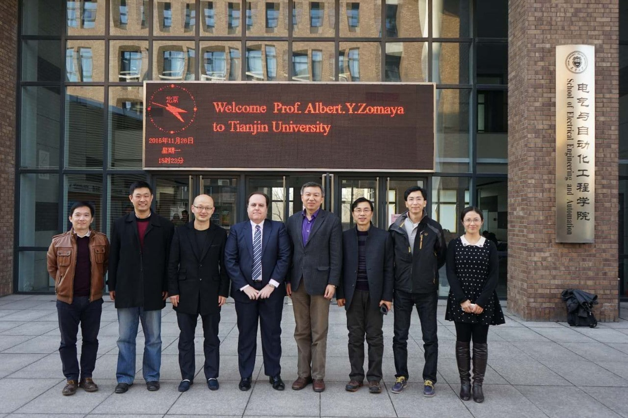 University of Sydney and Tianjin University academics leading the new research centre, the Australia-China Joint Research Centre for Energy Informatics and Demand Response Technologies.