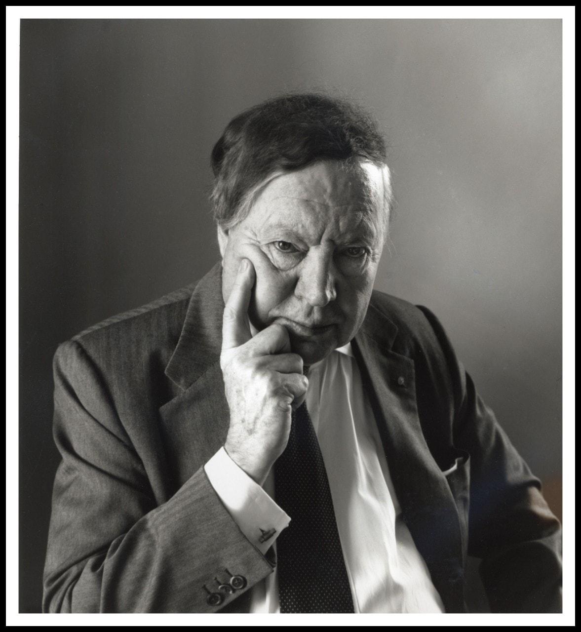 Portrait Professor Noel Hush by Rex Dupain