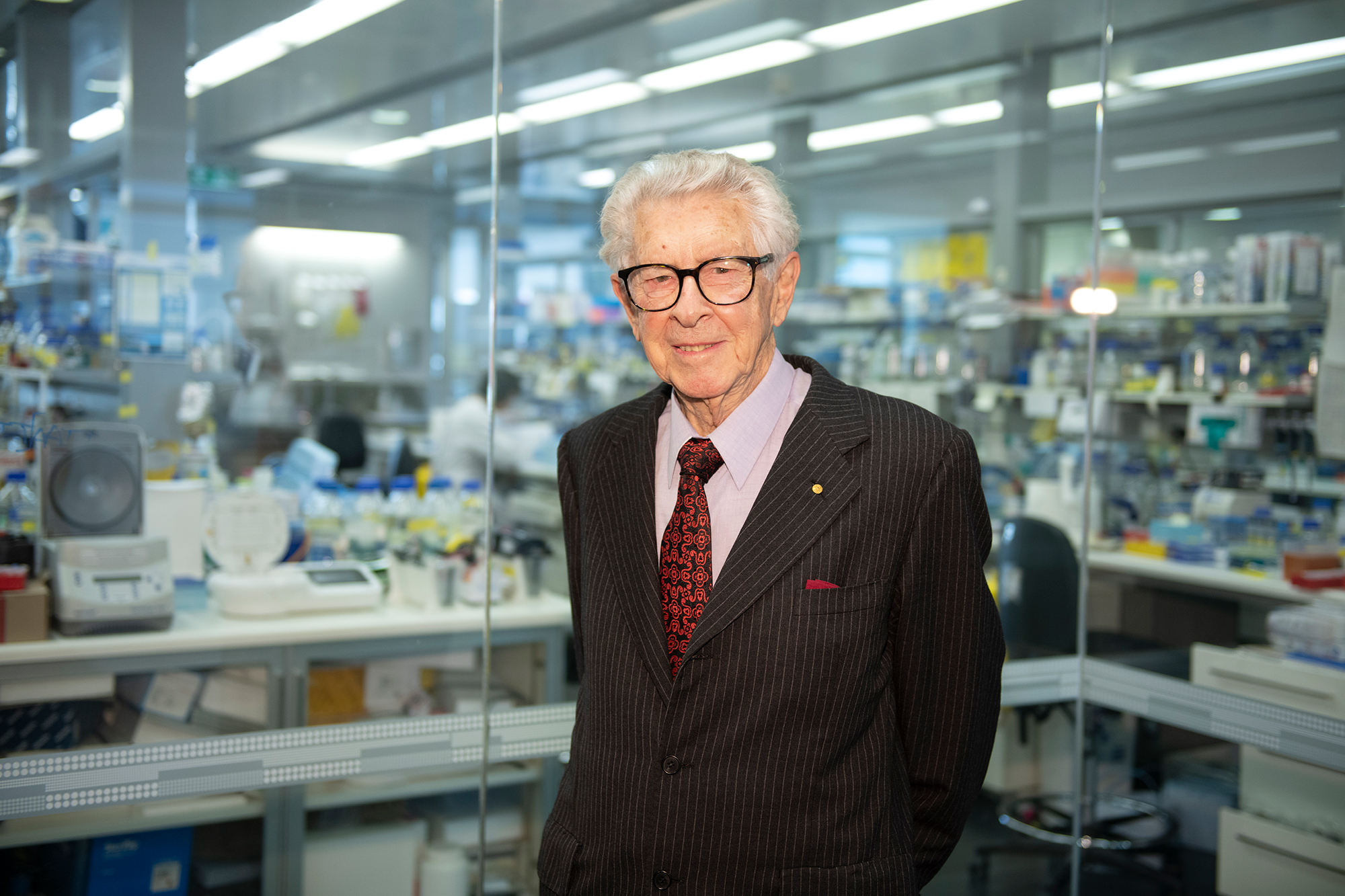 Emeritus Professor Jacques Miller's research has been credited with launching the course of modern immunology Credit: The Lasker Foundation.