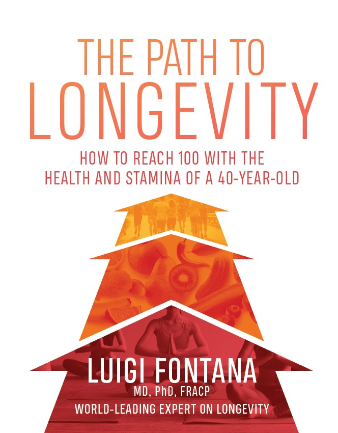 Book cover, The Path to Longevity