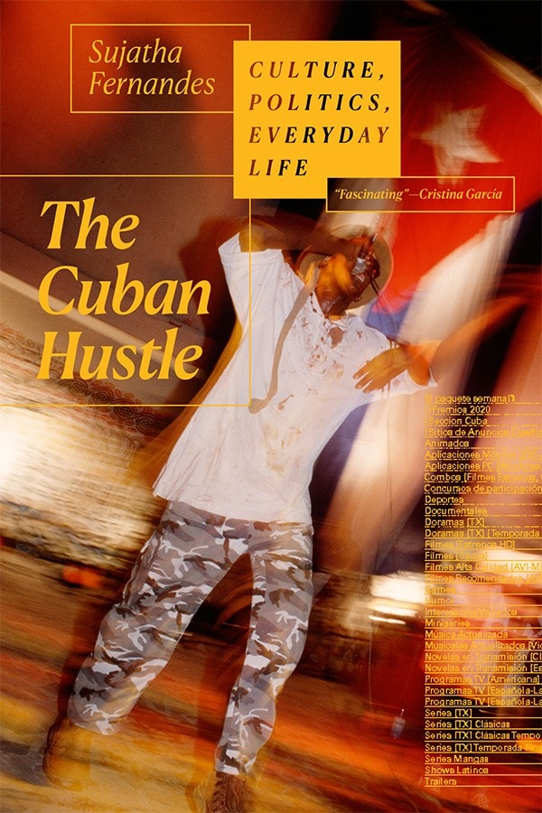 photo of book cover for Cuban Hustle
