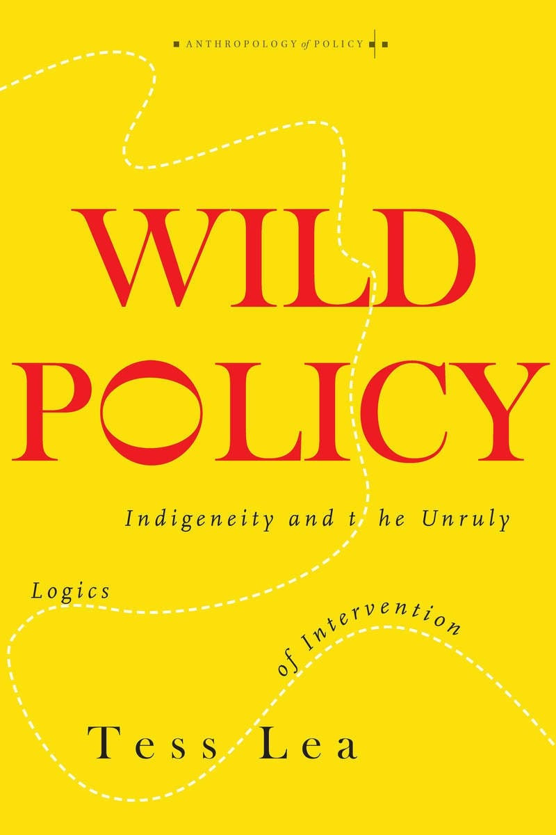 photo of book jacket for Wild Policy