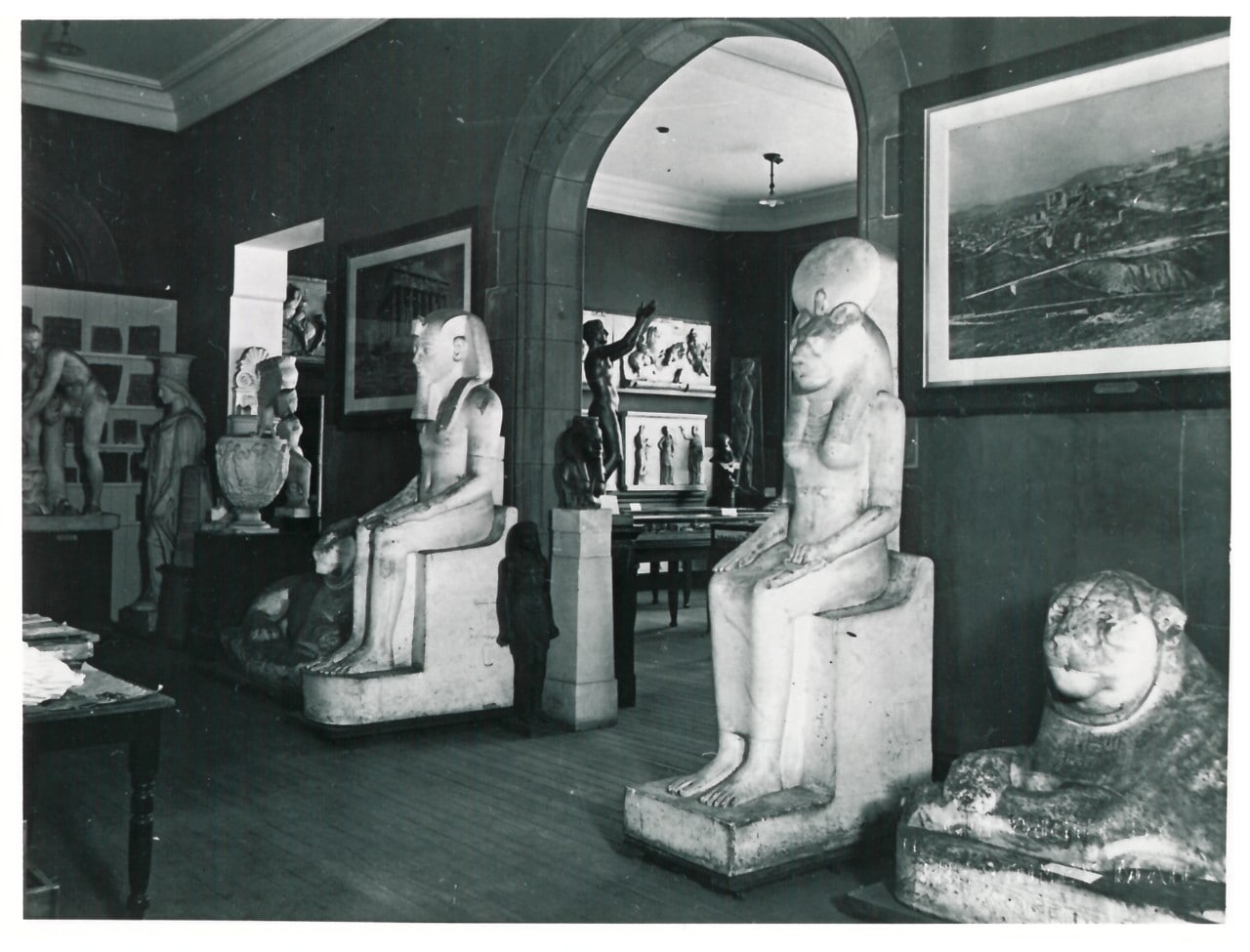 Nicholson Museum in the 1930s