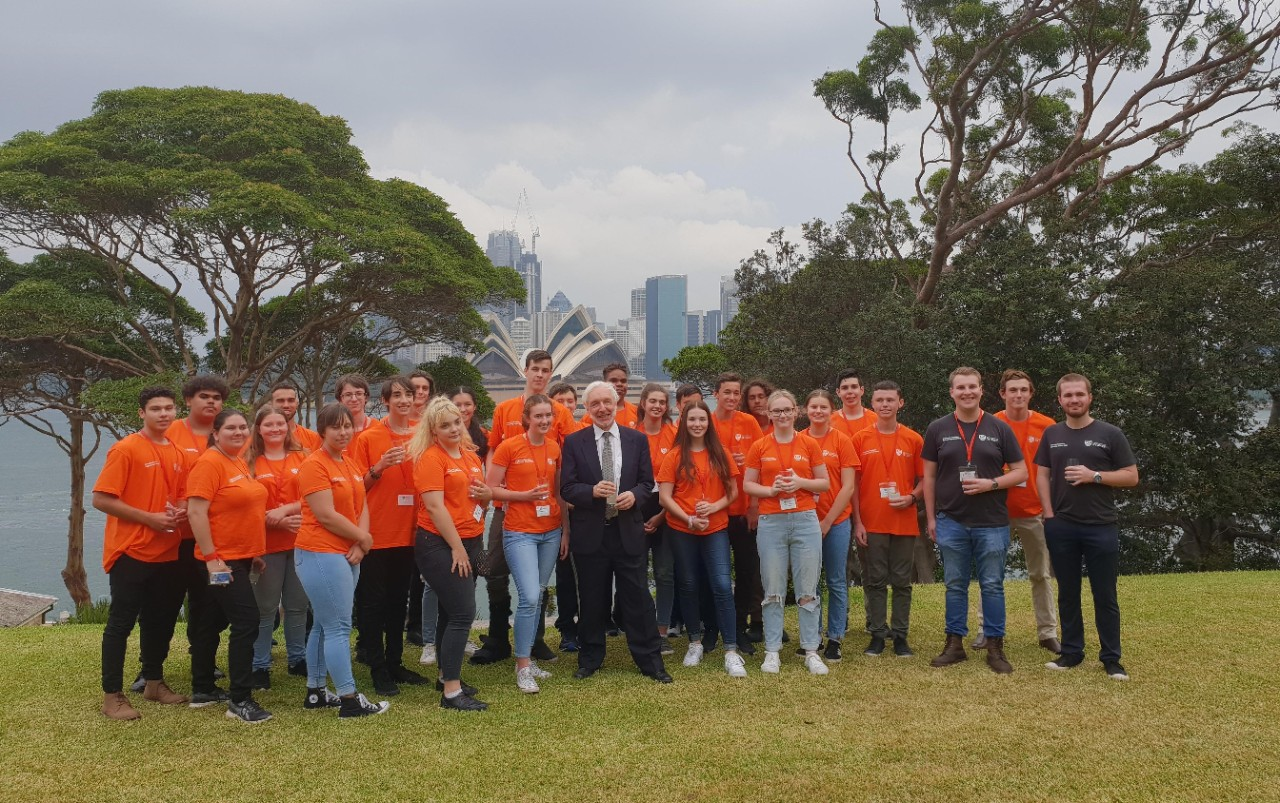 The 2020 cohort for the Indigenous Australian Engineering School