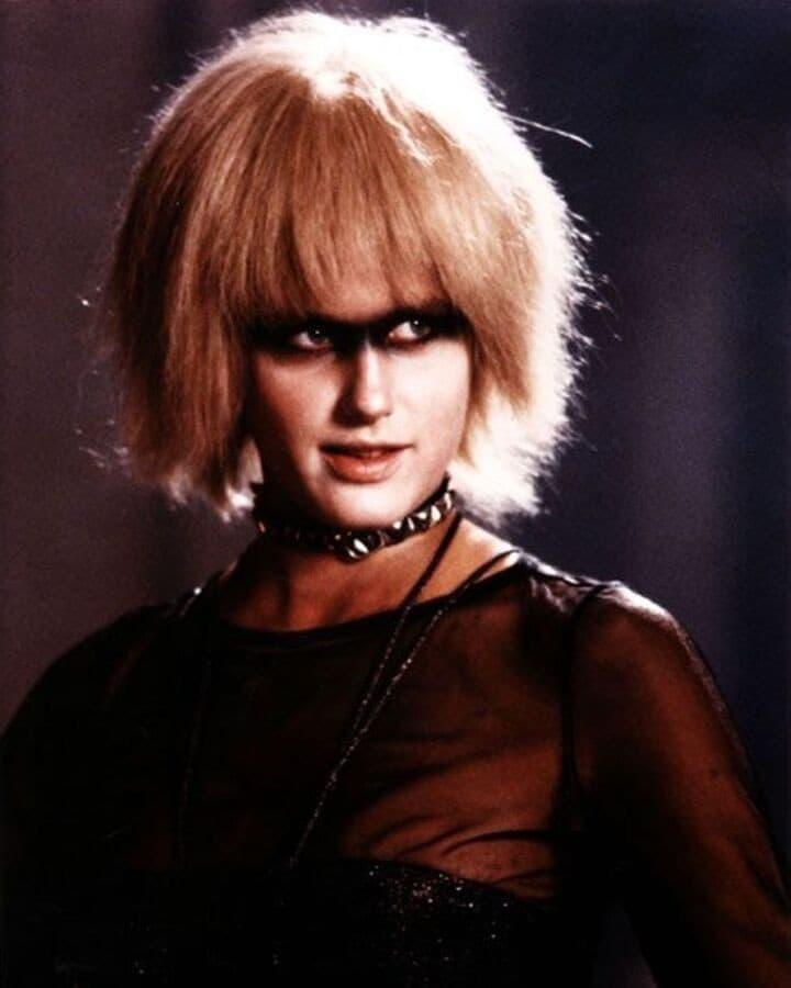 'Pris', a 'pleasure model' replicant in the film Bladerunner