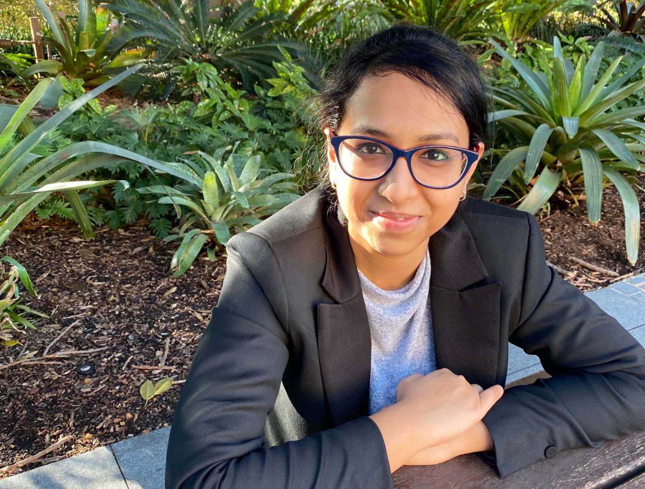 Shaili Patel Sydney Scholars India Scholarship recipient